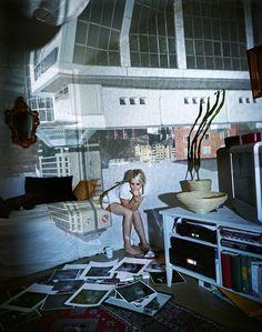 Marja Pirilä. Tiina's room