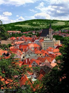 "Picturesque!  ""Cesky Krumlov, in Czech Republic is a little town tucked away, and is like what you would see in a scene of the Sound of Music. It sits on the Vlatava River, and is a very historic town and very beautiful."""