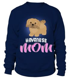 # A Cartoon Illustration Of A Havanese Dog Mom .  HOW TO ORDER:1. Select the style and color you want:2. Click Buy it now3. Select size and quantity4. Enter shipping and billing information5. Done! Simple as that!TIPS: Buy 2 or more to save shipping cost!