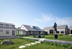 Modern Exterior by Ashe + Leandro and Ashe + Leandro in Martha's Vineyard, MA