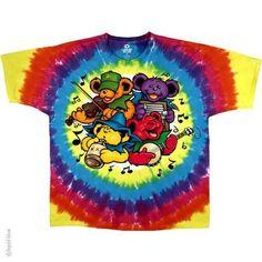 Grateful Dead Bear Jamboree Tie Dye T-Shirt
