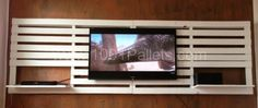 Pallets Wall Tv Mount