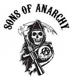 Sons of Anarchy series review - the reaper logo
