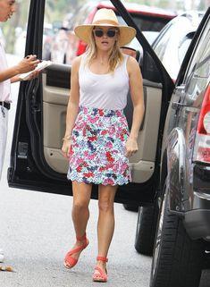 "elizabethswardrobe: "" Reese Witherspoon in LA. """