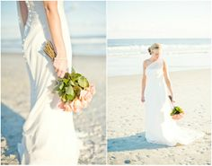 Wedding Bouquet on a Beach Wedding