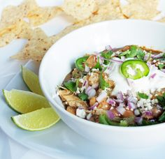 I Breathe... I'm Hungry...: Green Chicken Chili