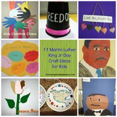 Martin Luther King Jr Day Craft Ideas for Kids