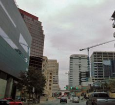 City of Austin in Texas Growing Downtown