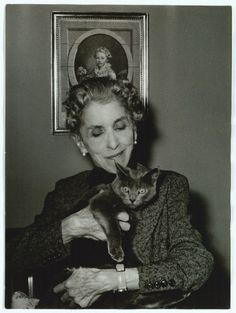 """Karen Blixen. """"A great artist is never poor"""". """"All sorrows can be borne if you put them into a story or tell a story about them""""."""