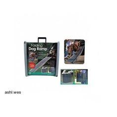 Folding Dog Travel Ramp Car Portable Pet Compact Light Weight New Free Shipping http://www.ebay.co.uk/itm/321682320230?ssPageName=STRK:MESELX:IT&_trksid=p3984.m1555.l2649