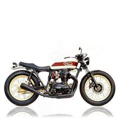 "Deus Ex Machina ""Gicleur"" Kawasaki Vintage Motorcycles, Custom Motorcycles, Custom Bikes, Custom Bobber, Ducati, Yamaha, Triumph Chopper, Deus Ex Machina, Kawasaki Motorcycles"