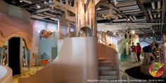 Copernicus Science Center in Warsaw Buzzz!! Gallery for kids from 3 - 6 Interactive exhibition concept & design KarekDesign.com - Karolina Perrin