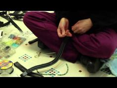 How to Bead Browbands - YouTube