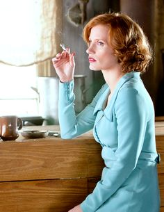 "alanprickman: "" ""Jessica Chastain in Lawless [2012] "" """