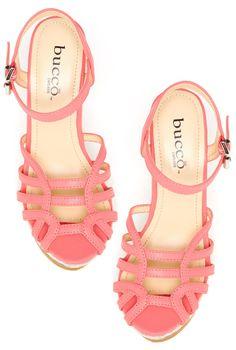Coral Wedges by Bucco