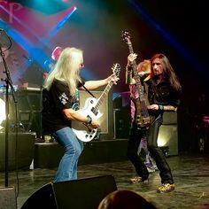 Mick Box und Davey Rimmer (Uriah Heep) von George Quartz