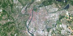 Lyon, France – PlanetSAT 15 satellite image (05/2014)
