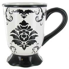 Black & White Damask Ceramic Mug | Shop Hobby Lobby