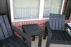 This is awesome !!!    Enjoy, like repin !        Hopelessly Flawed � DIY outdoor furniture