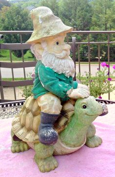How to Fix Your Garden Gnome (and Other Garden Decor)