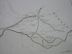 Viabilità antica nella Valle del Miscano