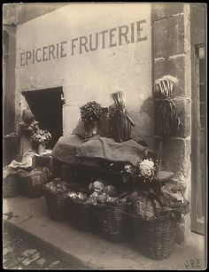 Eugène Atget, (French, 1857–1927). 15, rue Maître-Albert, 1912. The Metropolitan Museum of Art, New York. Rogers Fund, 1991 (1991.1233) #paris