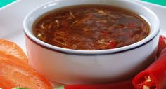 Sweet chilli sauce is a popular condiment in Western, Thai and Malaysian cuisine. It is commonly made with chillies and some sweetening ingredient such as fruit or a refined sugar.