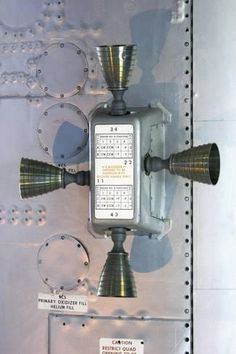 Space Frontier Photographic Print: Apollo Service Module Thruster Quad by Mark Williamson : - Nasa Missions, Moon Missions, Apollo Missions, Apollo Space Program, Nasa Space Program, Apollo 11, Apollo Spacecraft, Nasa History, Kennedy Space Center
