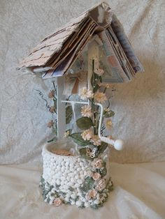 annes papercreations: Secret Garden Wishing Well with 2 Mini Album (video on the blog)