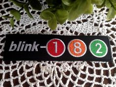 IRON-ON-Fabric-PATCH-Badge-Rock-BANDS-Heavy-METAL-MUSIC-Pink-BLINK-CASH-Death