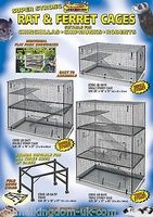Cages for Chinchilla, Rat, Chipmunk, Ferrets and Degus