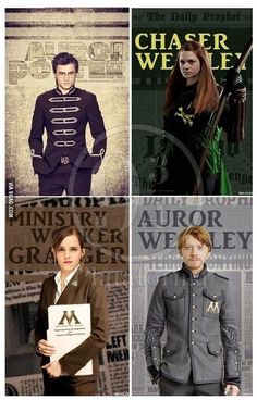 harry look so cool. but what happen to hermione?