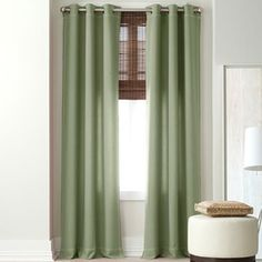 American Living Brooklane Grommet-Top Curtain Panel - jcpenney
