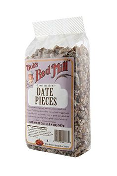 Bob's Red Mill Date Pieces, 20-Ounce Packages (Pack of 4) -- You can get more details by clicking on the image.