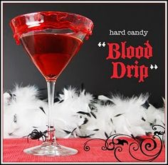 Cute drink for Halloween parties!