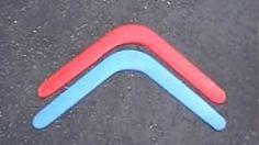 Nuances of boomerang design / flight pt. 2, via YouTube.    Good design tips