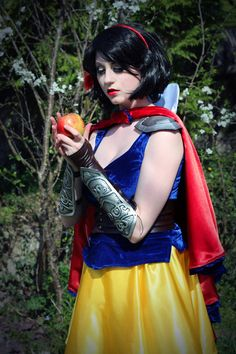 cosplay sexy snow white originalrikku deviantart