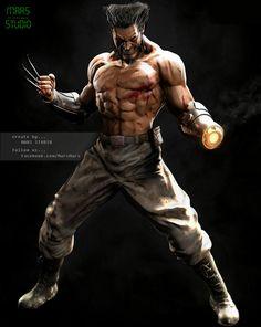 Wolverine [X-Men] by Mars M. | Fan Art | 3D | CGSociety