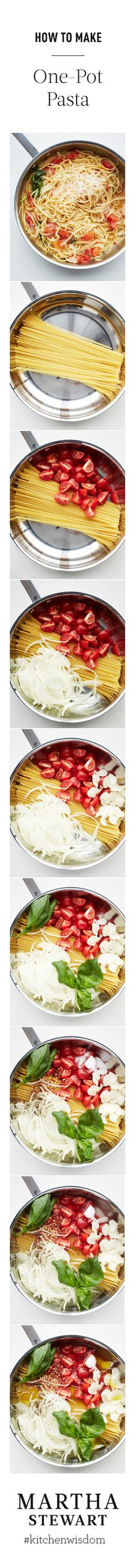 Expanding my pasta taste buds...The only one-pot pasta recipe you'll ever need.