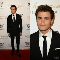Paul Wesley en Z Zegna - Humane Society of The United States 60th Anniversary Gala