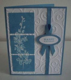 Vertical Triptych by Laurie Thompson - Cards and Paper Crafts at Splitcoaststampers
