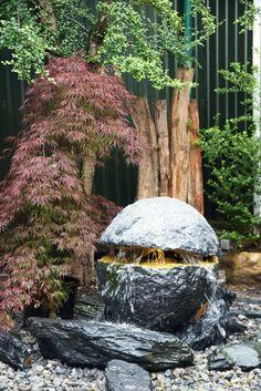 Wasser Im Garten #Brunnen#Natursteine#Aumann#Gartencenter#Cloppenburg# Gartengestaltung#