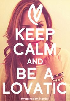 I'm a Lovatic because of my cousin and I thank her so much for it  #lovatic #demi
