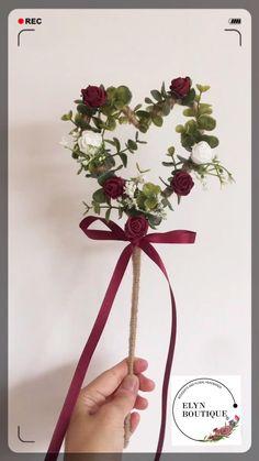 Ribbon Wedding, Wedding Bouquets, Wedding Favors, Wedding Gifts, Wedding Flowers, Flower Girl Wand, Mini Roses, Wrist Corsage, Floral Headbands