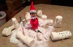 Naughty Elf On The Shelf ideas - goodtoknow