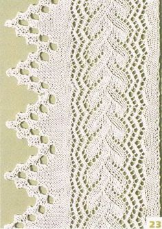 More well-charted lace edgings
