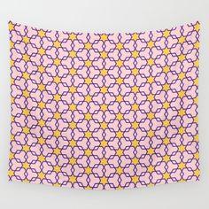 Retrostar #5 (By Salomon) #interior #home #decor #decoration #decoracion #casa #tapestry #wall #design #blanket #diseño  #fashion #moda  #tablecloth #cloth #table #meal #pattern #mosaic #mosaico #mantel #hule #stars #universe #retro #society6 @society6