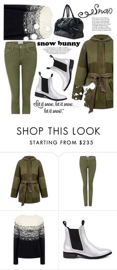 """""""Winter Fun: Snow Bunny Style"""" by ifchic ❤ liked on Polyvore featuring moda, Current/Elliott, Paul & Joe Sister, Miista, Anja, contestentry, winterstyle, snowbunny y ifchic"""