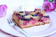 Rezepte mit Herz   ♥: Pflaumenkuchen mit Amarettini Streusel ♡