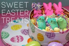 Easy Easter Treat: Chocolate Dipped PEEPS #easter